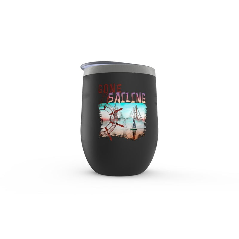 Stemless Wine Tumbler - Gone Sailing Collection - SVlovers