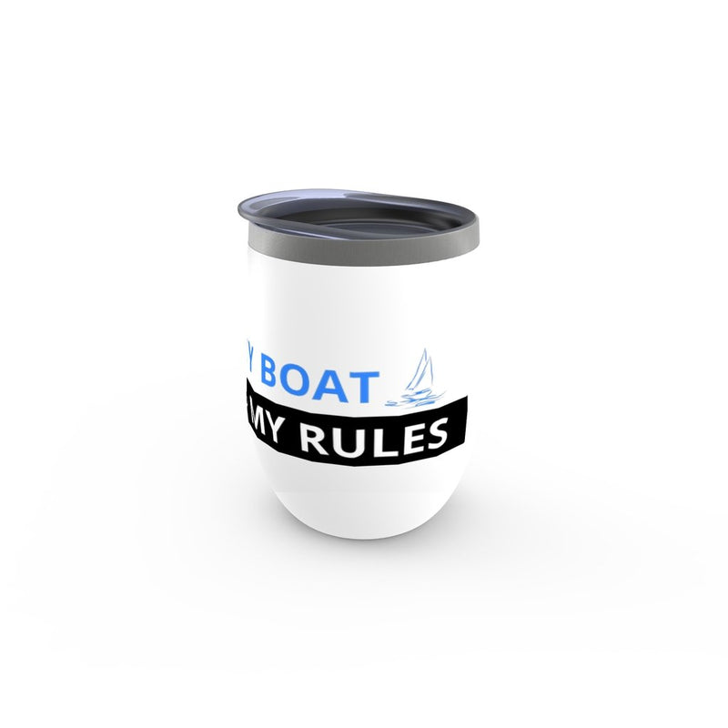 Stemless Wine Tumbler - My boat-My rules Collection - SVlovers