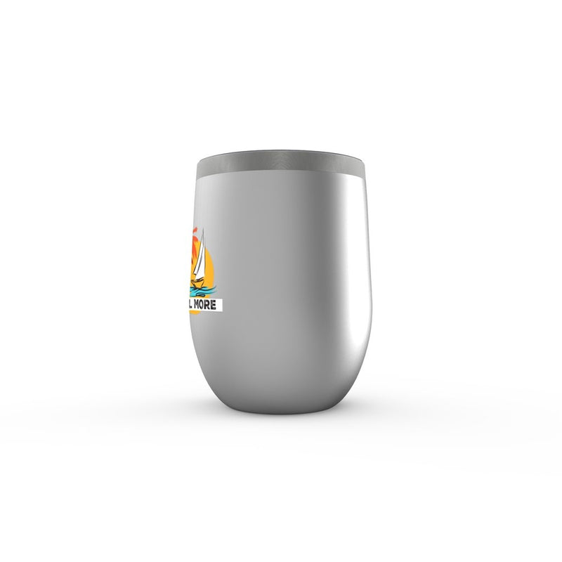 Stemless Wine Tumbler - Work Less-Sail More Collection - SVlovers