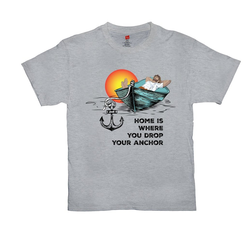 T-Shirt Unisex - Home is where you drop your anchor Collection - SVlovers