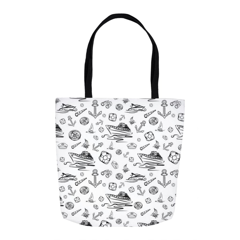 Tote Bag - White Sailing World Collection - SVlovers
