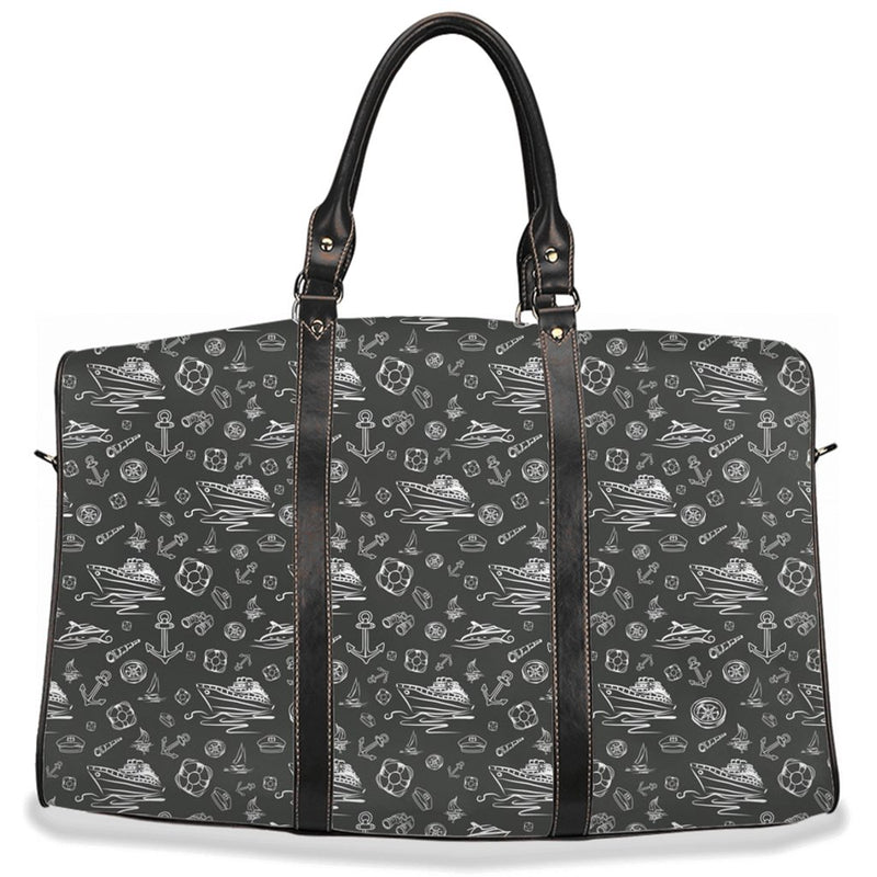 Travel Bag - Black Sailing World Collection - SVlovers