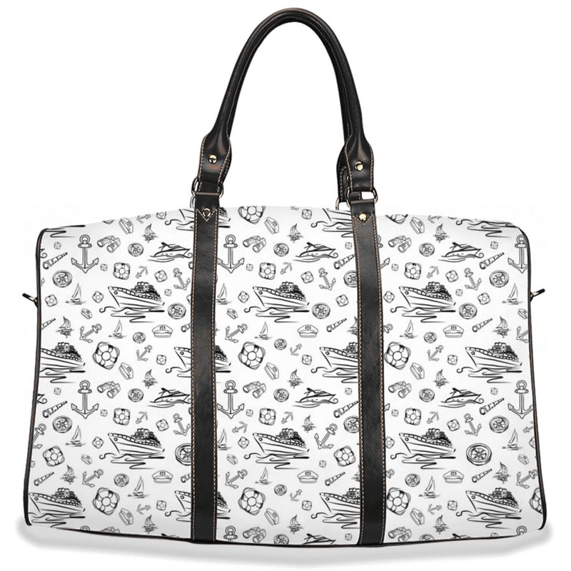 Travel Bag - White Sailing World Collection - SVlovers