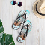 Unisex Flip-Flops - Gone Sailing Collection - SVlovers