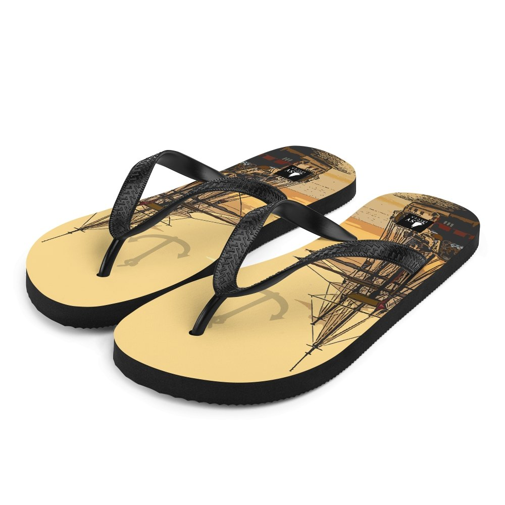 Unisex Flip-Flops - I'd rather be boating Collection - SVlovers