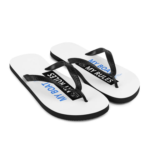 Unisex Flip-Flops - My boat-My rules Collection - SVlovers