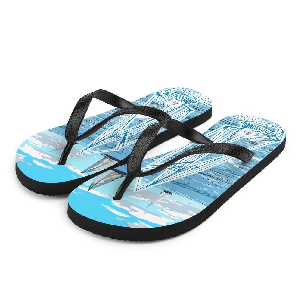 Unisex Flip-Flops - Sailing is not a hobby Collection - SVlovers