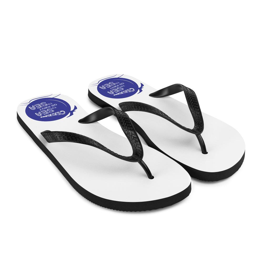 Unisex Flip-Flops - To sea or knot to sea Collection - SVlovers