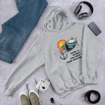 Unisex Hoodie - Home is where you drop your anchor Collection - Sport Grey - SVlovers