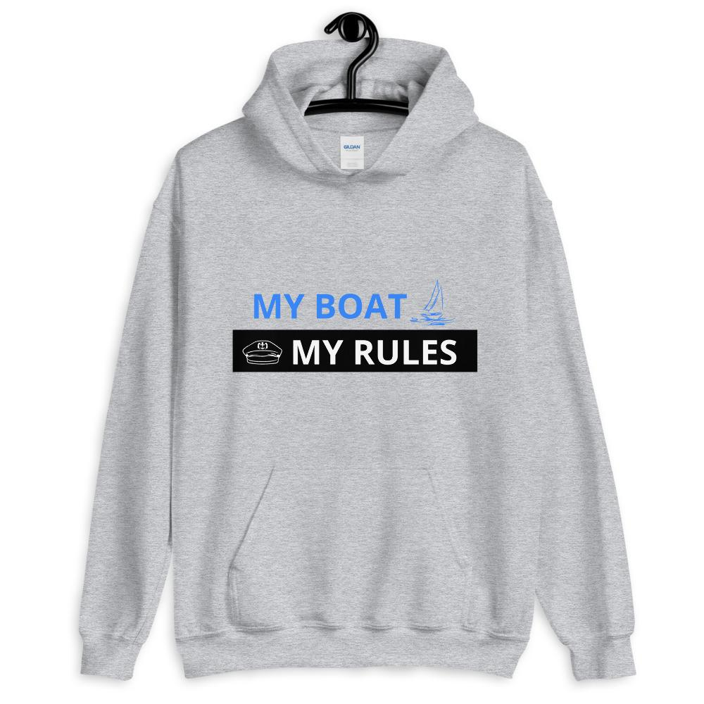 Unisex Hoodie - My boat-My rules Collection - SVlovers