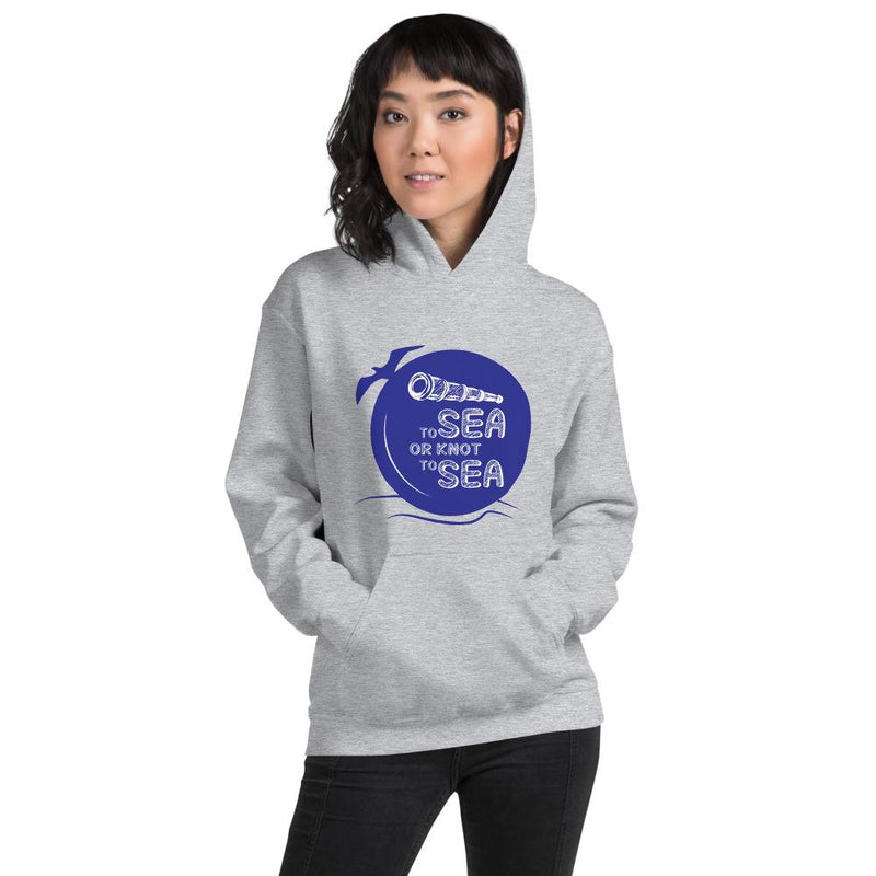 Unisex Hoodie - To sea or knot to sea Collection - SVlovers