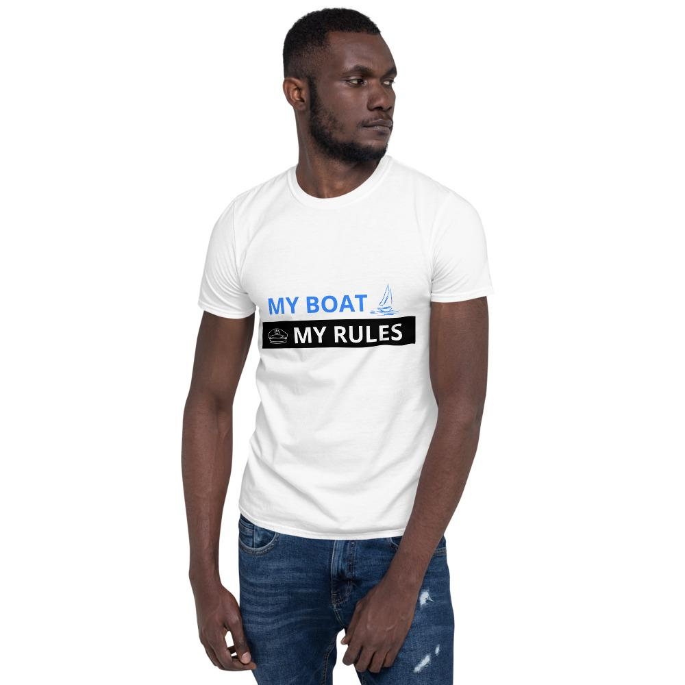 Unisex T-Shirt - My boat-My rules Collection - SVlovers
