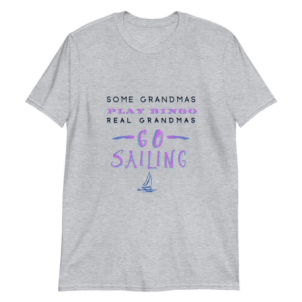 Unisex T-Shirt - Sailing Grandma - SVlovers