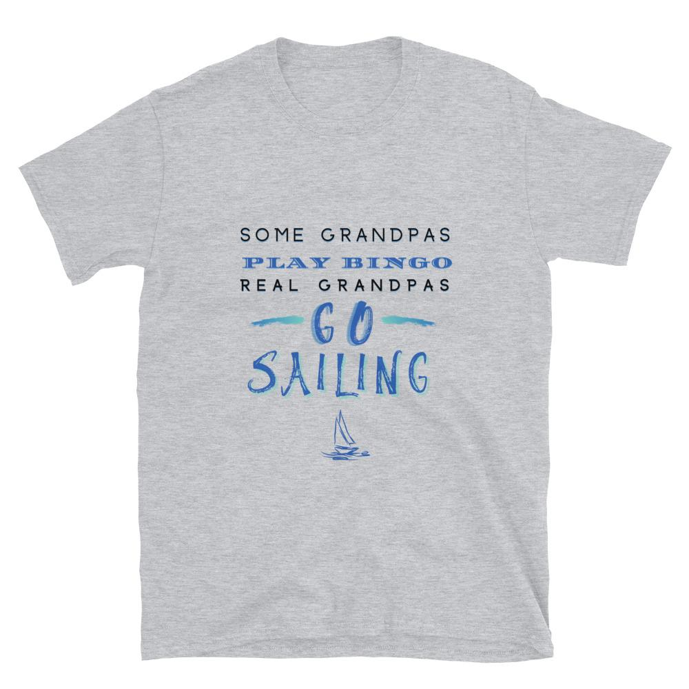 Unisex T-Shirt - Sailing Grandpa - SVlovers