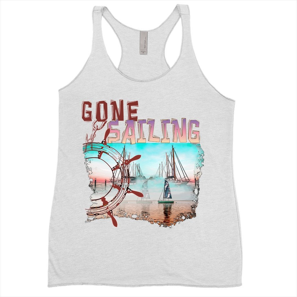 Women's Tank Top - Gone Sailing Collection - SVlovers