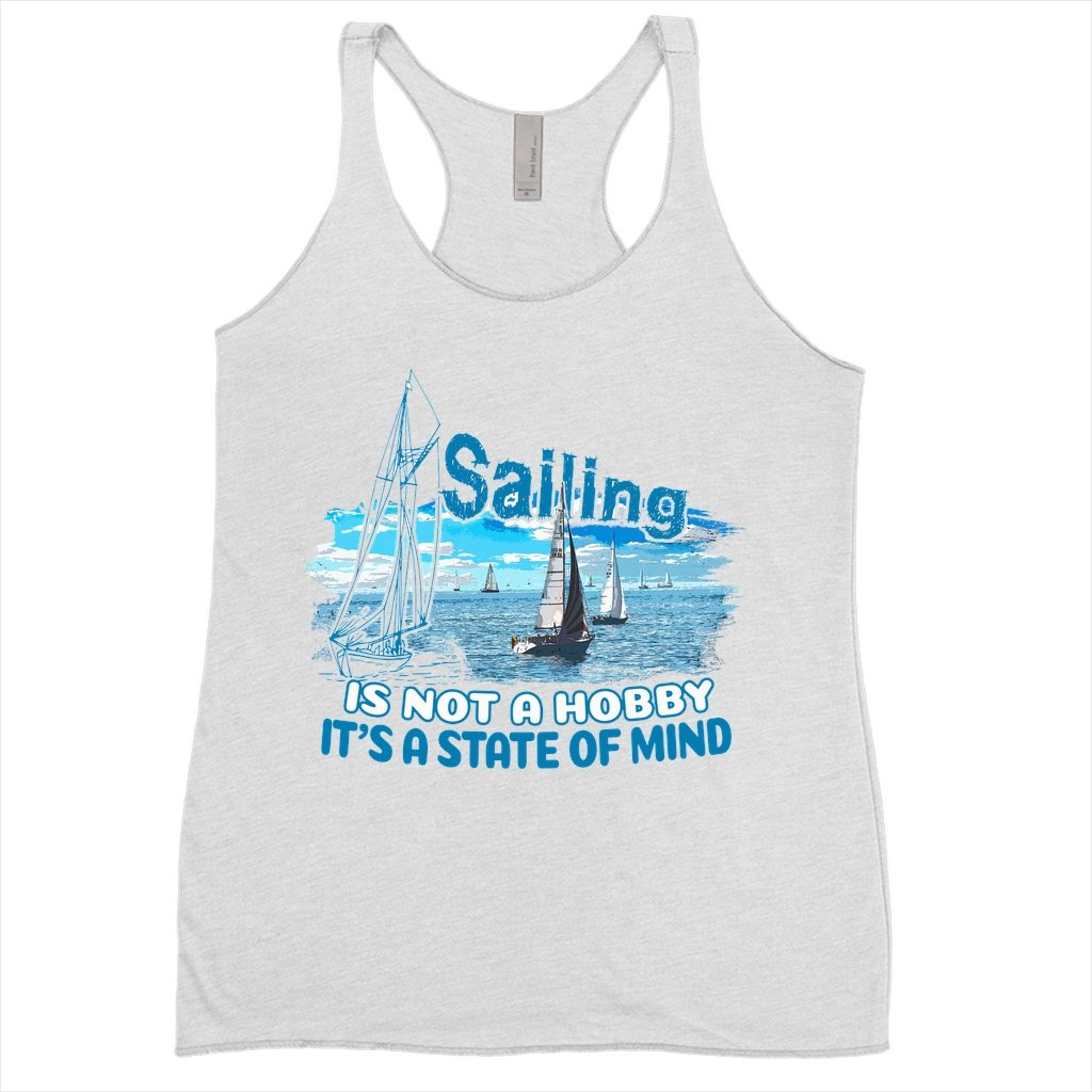 Women's Tank Top - Sailing is not a hobby Collection - SVlovers