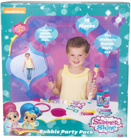 Shimmer & Shine 16pc Bubble Party