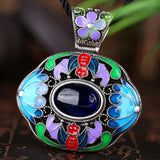 N006-A Ladies Old Classical National Style Necklace