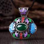 N006-C Ladies Old Classical National Style Necklace