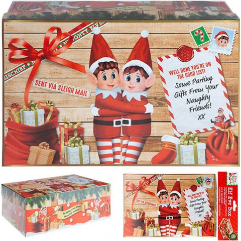 Christmas Eve Boxes Set of 4