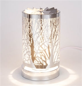 SPINNING Touch Sensitive Aroma Lamp - White Tree
