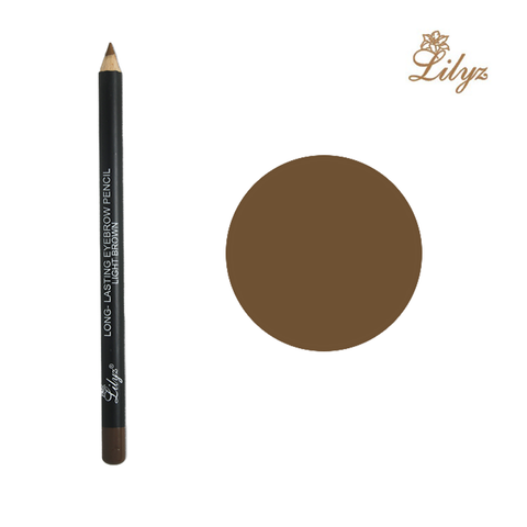 Lilyz brand new range wooden handle long-lasting eyebrow pencil – blond