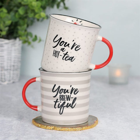 Boxed Valentines Couple Set Mugs