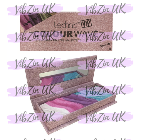 VIP Colour Wave Eye & Cheek Palettes