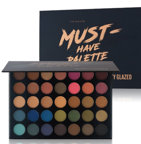 Beauty Glazed 35 Colours Must Have Eyeshadow Palette