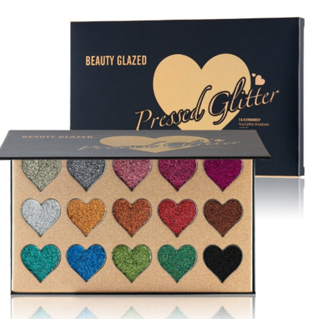 15pc Glitter Eye Shadow Pallet