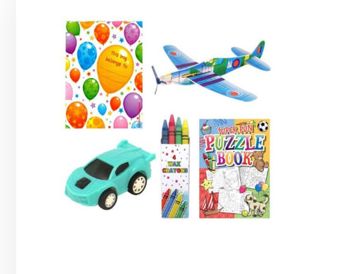 10  Boys Themed Party Goody Bags