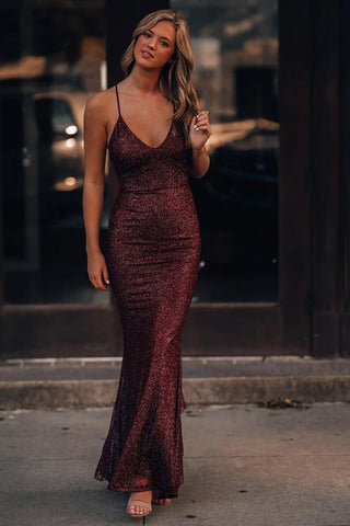This is love Glitter evening gown - dress