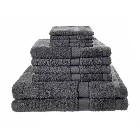 10 Set Black Towels