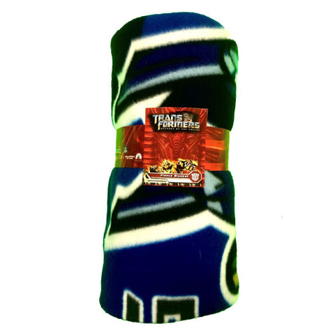 OFFICIAL TRANSFORMERS FLEECE BLANKET