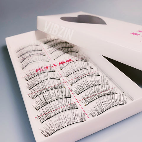 10pack Handmade Lashes