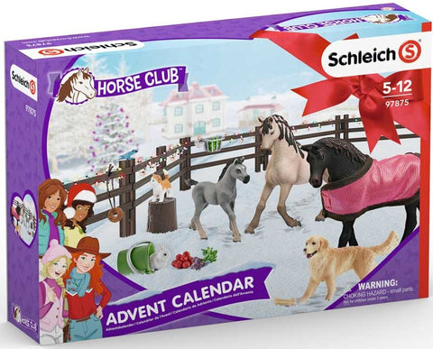 SCHLEICH ADVENT CALENDAR HORSE CLUB
