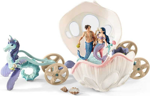 SCHLEICH ROYAL SEASHELL CARRIAGE