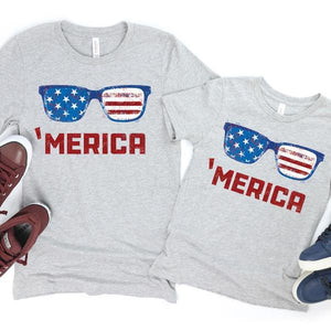 Flag Sunglasses Shirt