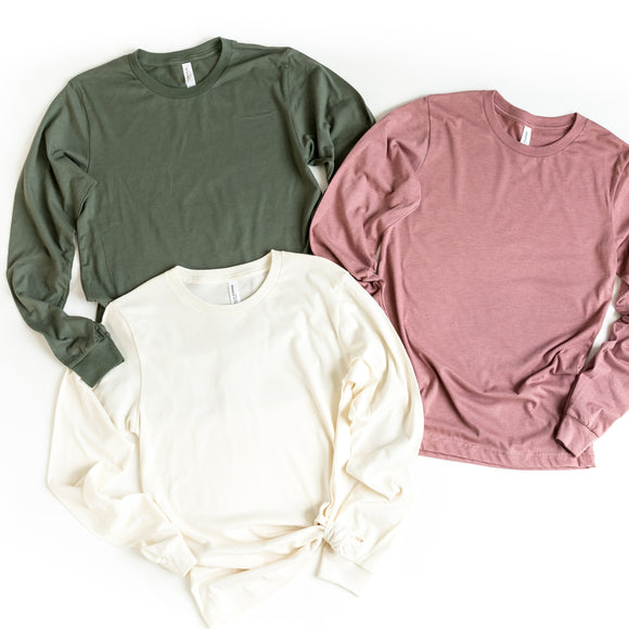 Upgrade to a Long Sleeve Shirt