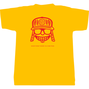 Yellow Never Forget Tee