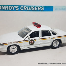 1/43rd scale North Dakota State Patrol older Ford Crown Victoria LOOSE