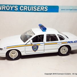 1/43rd scale Augusta, Maine Police older Ford Crown Victoria LOOSE
