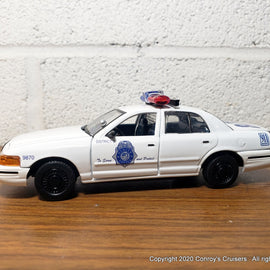 1/43rd scale Denver, Colorado Police Ford Crown Victoria LOOSE