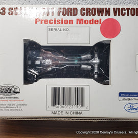 #27150 1/43rd scale South Dakota Highway Patrol Ford Crown Victoria Serial #0001