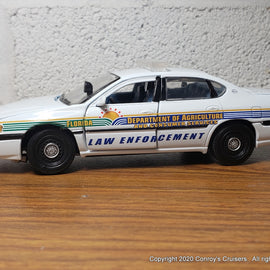 Custom 1/43rd scale Florida Department of Agriculture Law Enforcement Chevrolet Impala (Gearbox car)