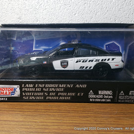 MotorMax 1/43rd scale Dodge Police Vehicles Dodge Charger Pursuit Demonstrator car