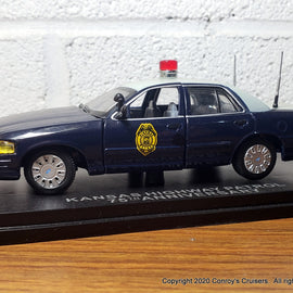 First Response Replicas 1/43rd scale Kansas Highway Patrol Ford Crown Victoria Police Interceptor