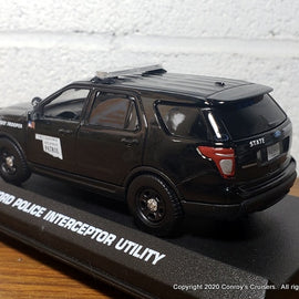 ***NEW***  Custom 1/43rd scale Oklahoma Highway Patrol Ford Police Interceptor Utility diecast car