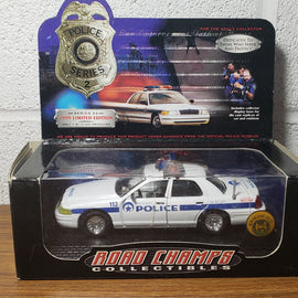 1/43rd scale New Orleans, Louisiana Police 1999 Ford Crown Victoria (In box with pin)