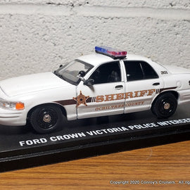 Custom 1/43rd scale Ochiltree County, Texas Sheriff Ford Crown Victoria Police Interceptor diecast car